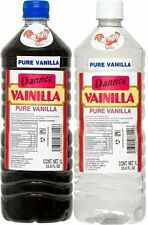 Danncy Pure Mexican Vanilla Extract 33oz Ea 1 Dark & 1 Clear Bottles Mexico
