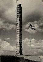 Kolding Dänemark alte Ansichtskarte ~1950/60 Skamlingsbankestøtten Steinsäule