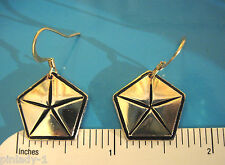 CHRYSLER pentstar - earrings  GIFT BOXED
