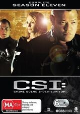 CSI TV Series: SEASON 11 = (NEW/Sealed Region 4 DVD 6 dvds set) L Fishbourne