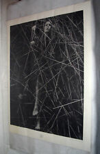 Tony Currin Vintage Poster Seed Black /& White 1970 Original pin-up 1970/'s