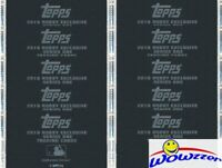 (10) 2019 Topps Series 1 Baseball HOBBY EXCLUSIVE Factory Sealed SILVER PACK