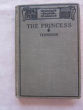 Old Little Book Tennyson's The Princess Dated 1897  GC