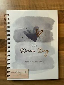 Our Dream Day Wedding Planner Book Organiser Wedding Gift Preparation Notes -NEW