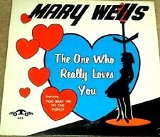 "MARY WELLS-""ONE WHO REALLY LOVES YOU""~""MOT-605~U.S. PRESS.~- ""VG+/VG+ """"~ LP!!!"