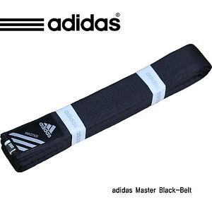 Adidas Master Black-Belt/Karatedo/Taekwondo,Judo Black Belt(Width 5cm)