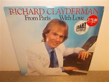Richard Clayderman . From Paris with Love . Shrink Wrap . LP