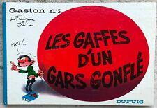 Gaston 5 Les gaffes d'un gars gonflé EO 1967 Proche Neuf Franquin Jidéhem