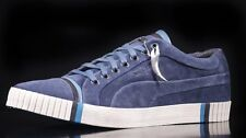 Puma AMQ Scarred in pelle scamosciata denim scuro tg UK 10.5 da ALEXANDER MCQUEEN