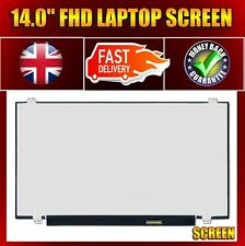 "Compatible ChiMei Innolux N140HCE-EN1 Rev.C2 14"" LED FHD Laptop IPS Screen 315mm"