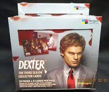 DEXTER SEASON 3 Trading Cards,  Factory Sealed Hobby Box