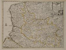 Carte Artois Arras Saint-Omer Lens Abbeville Calais Lille Douai Convens Mortier