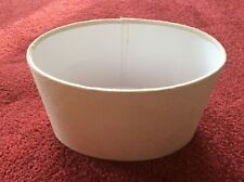 Cream Country Oval Lampshade small bedside Lamp Shade