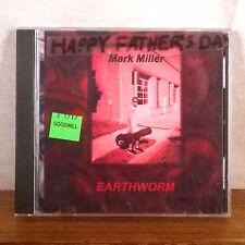Mark Miller Earthworm rare Private Press Rock Cd Album 2003