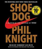 Shoe Dog by Knight Phil, Read by Norbert Leo Butz #P95