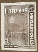 Little Axe 1995 press advert Full page 27 x 38 cm mini poster