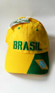 Authentic FIFA World Cup Hat Brazil Cap Germany 2006 Soccer Football