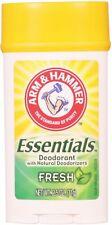 Arm - Hammer Essentials Natural Deodorant, Fresh 2.5 oz (Pack of 2)