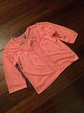 Bnwot Girls Pumpkin Patch Urban Angel Cotton And Lace Cardigan Size 16yr