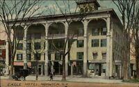 Norwich NY Eagle Hotel c1910 Postcard