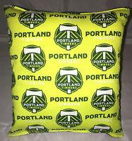 Timbers Pillows Portland Timbers MLS Pillow Handmade in USA.