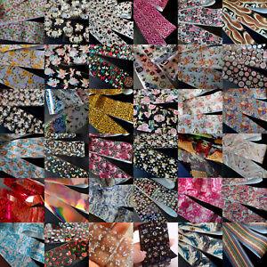 Nail Art Transfer Foil, Nail Foil Foils, Flowers, Animal, Snakeskin, Cupid, UK