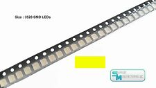 Pack of 100 Yellow 1210 PLCC-2 3528 SMD SMT LED Light Chip