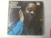 Dennis Brown-Unchallenged Vinyl LP 1988