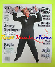 ROLLING STONE USA MAGAZINE 786/1998 Jerry Springer Paula Cole N. Imbruglia No cd