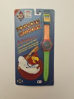 Vintage Foghorn Leghorn Holographic Digital Watch Comic Ball 1990 New York Mets