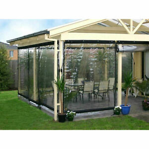 US Commercial Grade Mosquito Net Netting Awning Canopy Patio Enclosure Curtain