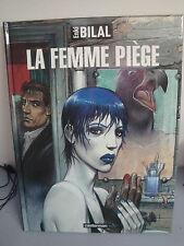 BD La Femme Piège - Enki Bilal