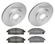 FOR NISSAN ELGRAND 2.5 3.5 03 04 05 06 07 08 09 FRONT BRAKE PADS DISC ME51 E51