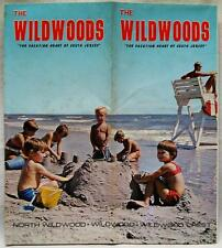THE WILDWOODS SOUTHERN NEW JERSEY TOURIST TRAVEL BROCHURE GUIDE 1970 VINTAGE