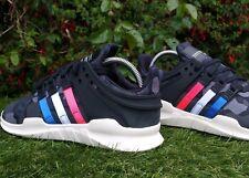 new styles 9c9fe ac2ed BNWB Adidas Originals attrezzature EQT Sostegno ADV Nero Camo Sneaker UK 6.5