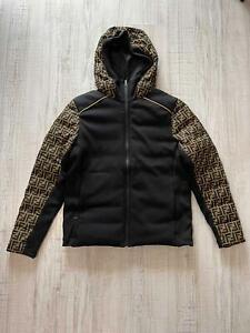 Fendi FF Motif Men Jacket Size M - RRP £1500  Limited Edition