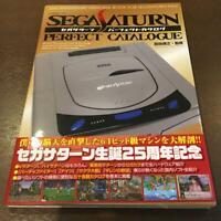 Sega Saturn Perfect Catalog Book Japanese Video Game Catalogue 25th Memorial