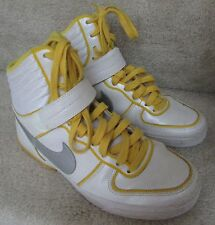 Womens Nike Aeroflight High LE SAMPLES White/Yellow Sz 7 Sneakers Shoes