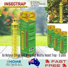 Go Natural Citrus Gall Wasp And Medfly Insect Trap - 3 pack