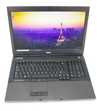 "Dell Precision M6800 17"" Laptop: 32GB RAM, 4th Gen i7, 480GB K4100M Warranty VAT"