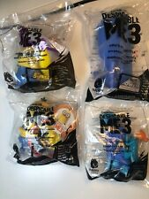 2017 MCDONALD'S DESPICABLE ME 3 TOYS MINIONS *LOT OF 4 TOYS. ALL NIP!!