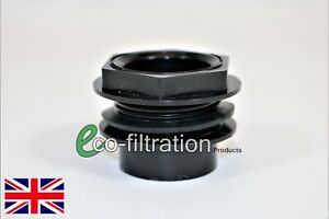32MM BULK HEAD CONNECTOR KOI FISH POND PUMP FILTER PIPE FITTING