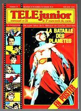 TELE JUNIOR n°31 ¤ 1979 ¤ GOLDORAK/SPIDER-MAN/ AVEC POSTER BATAILLE DES PLANETES