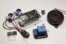 ESP8266 ESP-12E DIY Motion Alarm Kit with WiFi, Diagrams and Text Message Code
