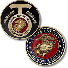 UNITED STATES MARINE CORPS BASE CAMP PENDLETON COIN 61764