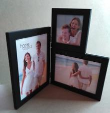 CORNER Frame Desk - 2 / 3 Openings Multi PhotoFrame Decor Gift BLACK / WHITE NEW