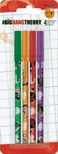 The Big Bang Theory Stick Pens - 4pk w