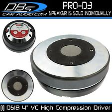 "DS18 PRO-D3 4"" Compression Horn Driver 600W Max 8 ohm Mid Range Super Tweeter"
