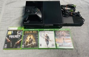 Microsoft Xbox One 500 GB Console Black (1540) - Bundle With Controller & Games