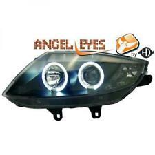 LHD Phares Projecteur Paire Angel Eyes Transparent Noir H1 H7 pour Bmw Z4 02-09